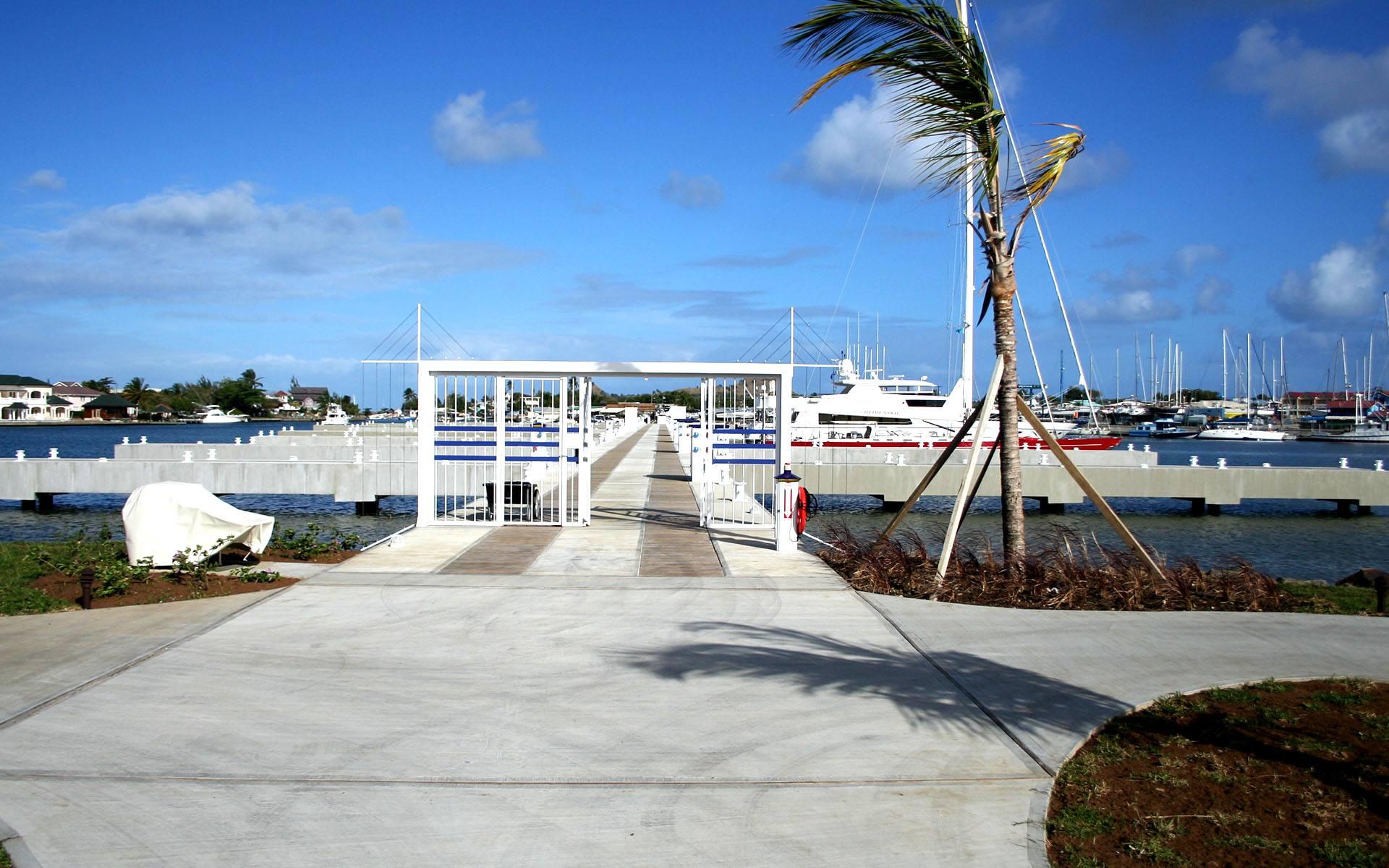 Rodney Bay Marina Rehabilitation Marenco Marine