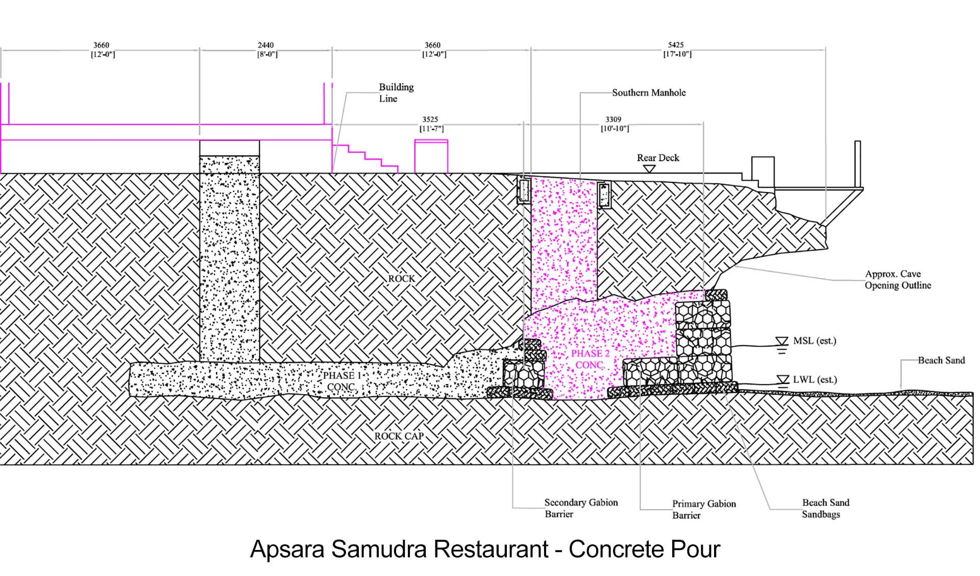 Specialised Marine Work Apsara Marenco Restaurant Schematic Project Samudra Christ Church Barbados